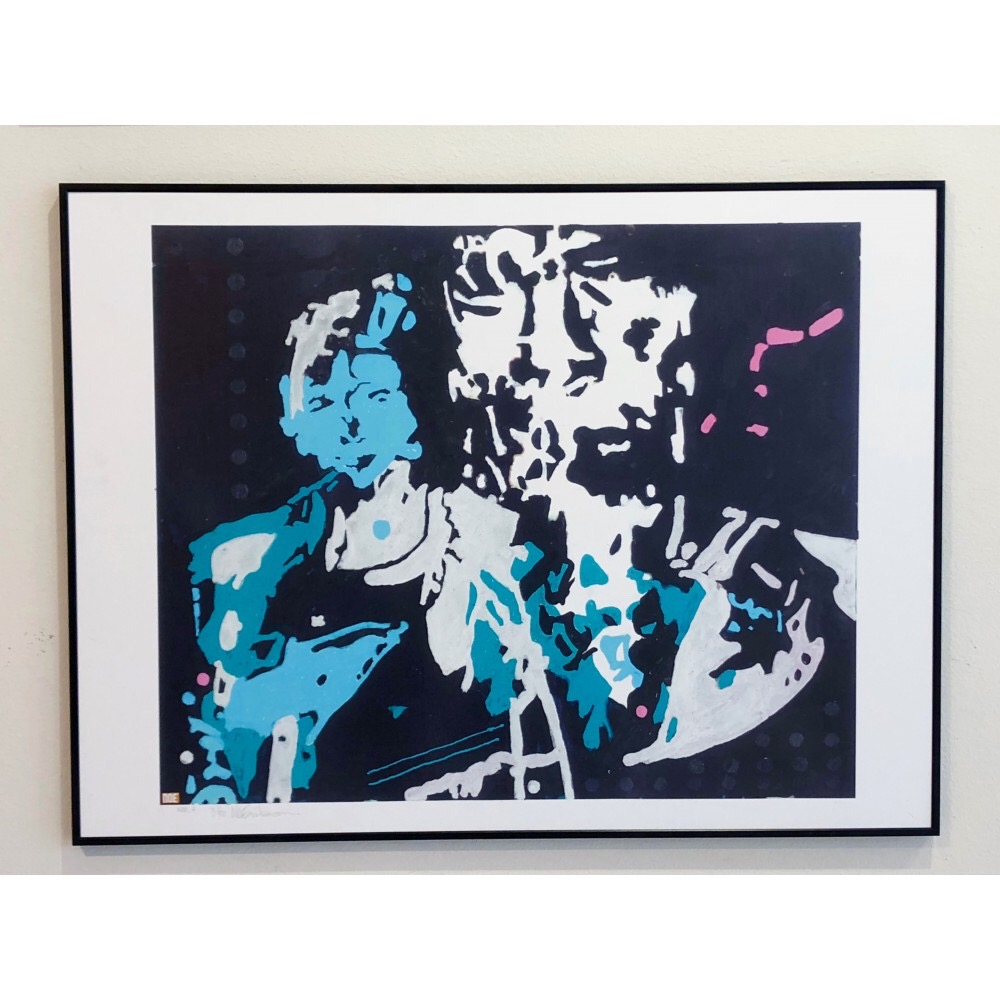 """The Rolling Stones #8"" by Noe Eriksson. 80 x 60 cm"