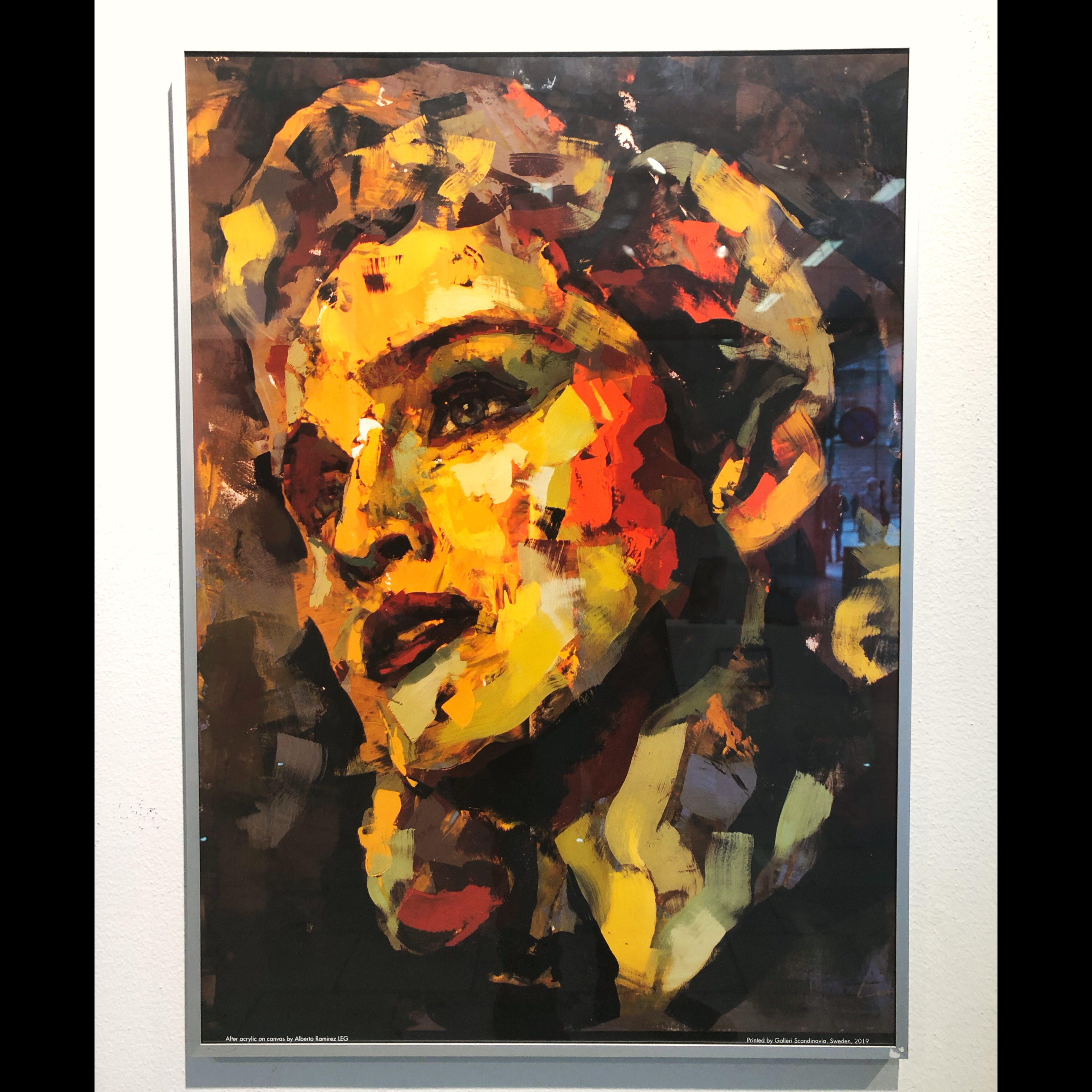 """""""Madonna"""" Limited edition poster by LEG, 50x70 cm"""