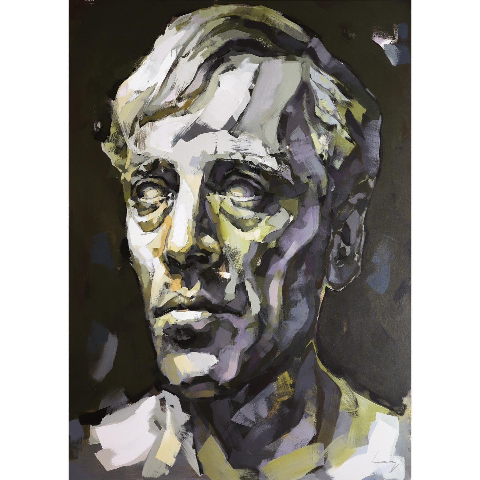 Max Von Sydow 180x130 cm by Alberto Ramirez LEG (Bergman)