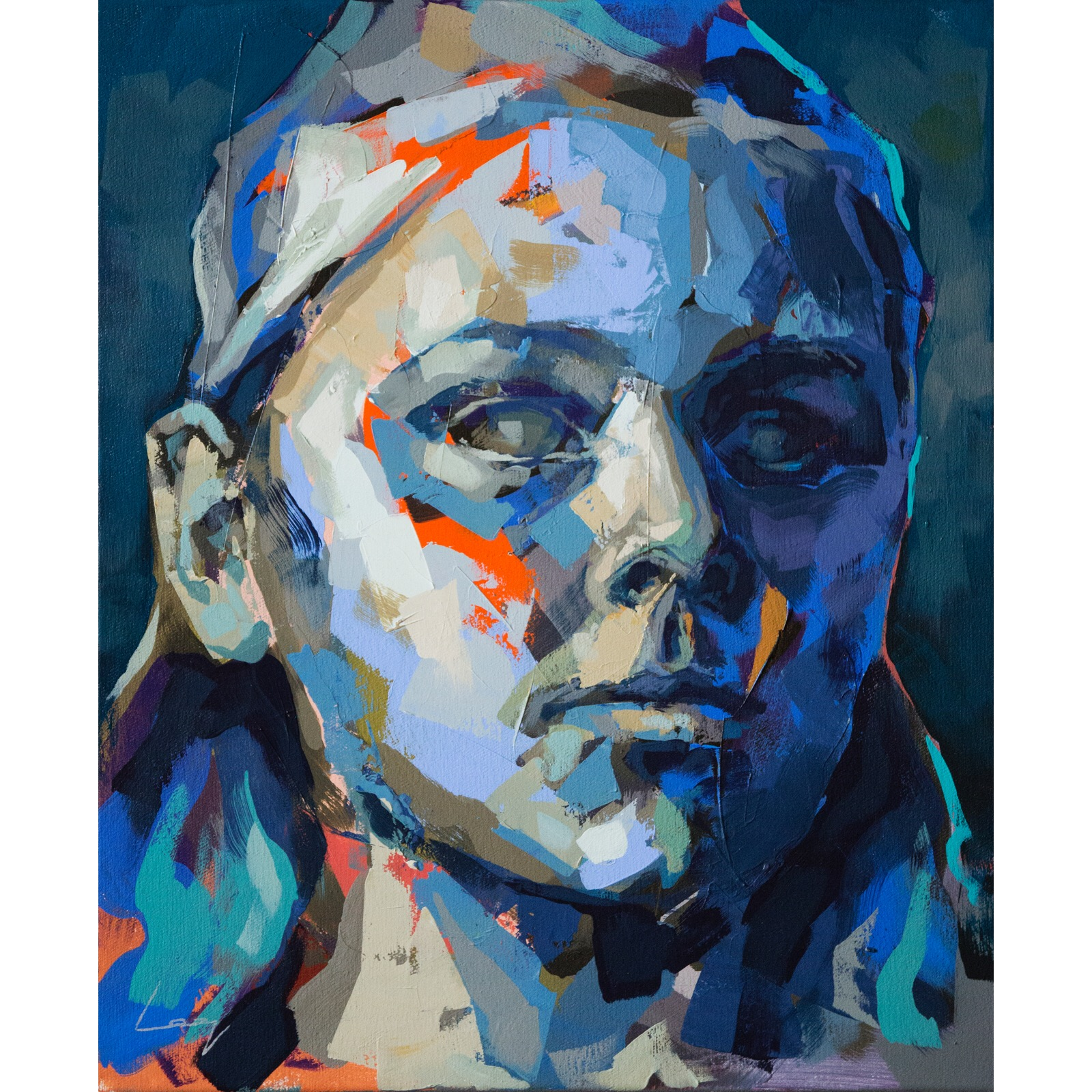 Pernilla Allwin (Fanny och Alexander) 60x50 cm by Alberto Ramirez LEG (Bergman)