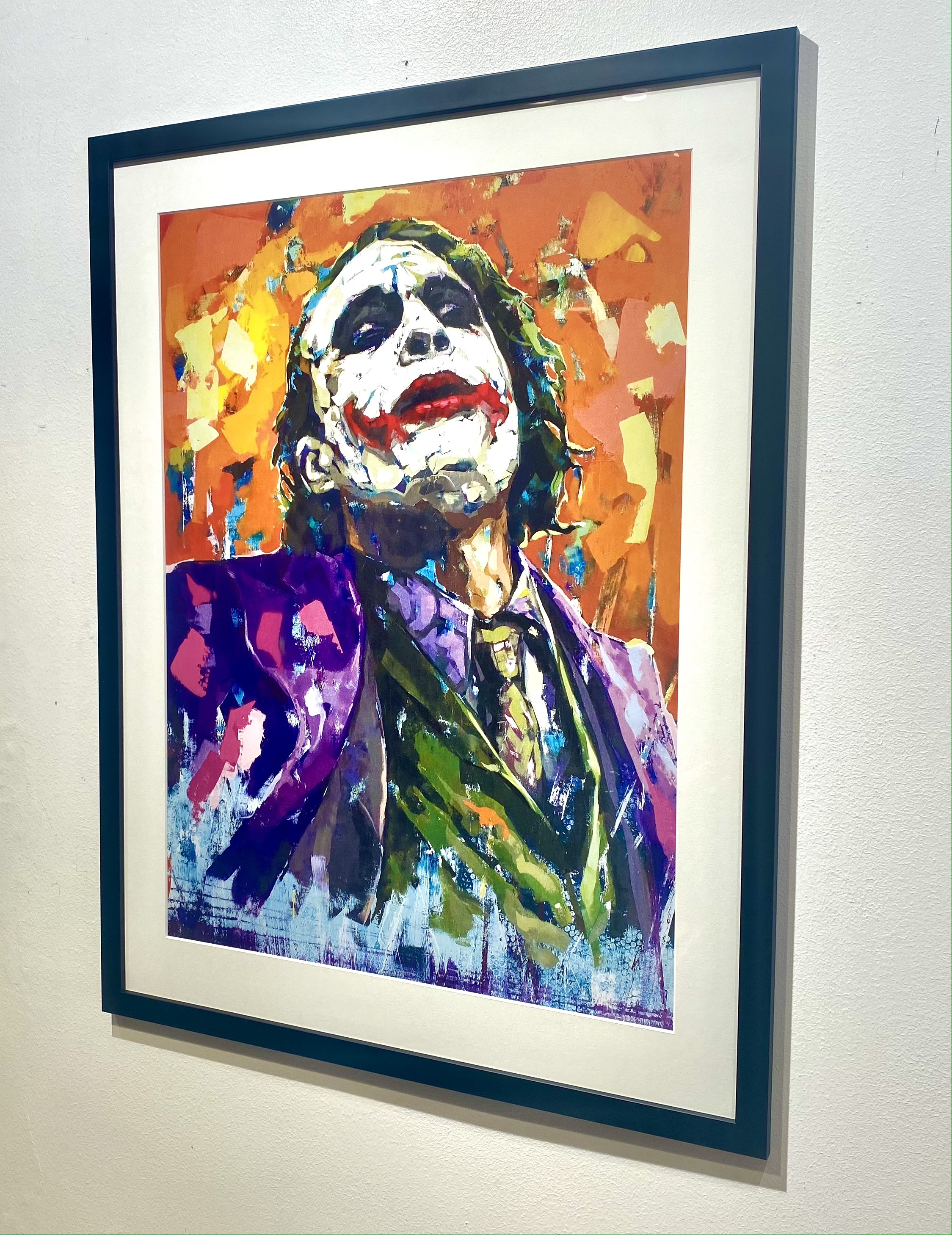 """Joker"" Limited Edition by LEG 50x70cm"