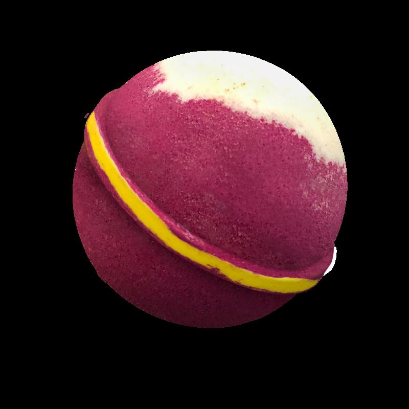 Cherry Bakewell Bath Bomb