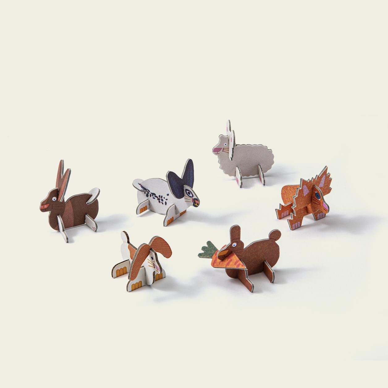 Play in Choc Organic Chocolate Rabbit Puzzle