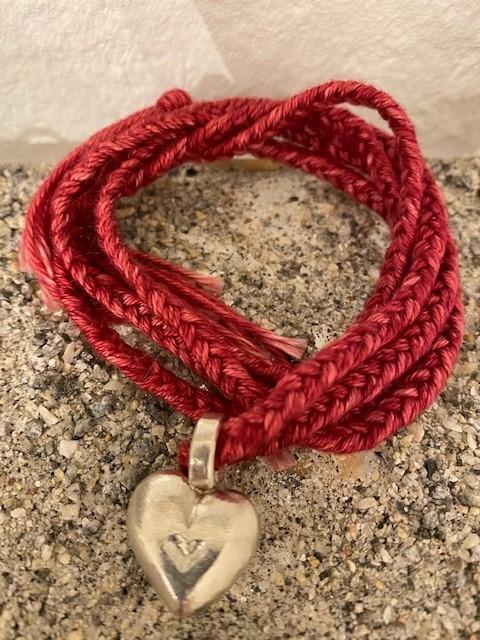 Silverhjärta - hänge