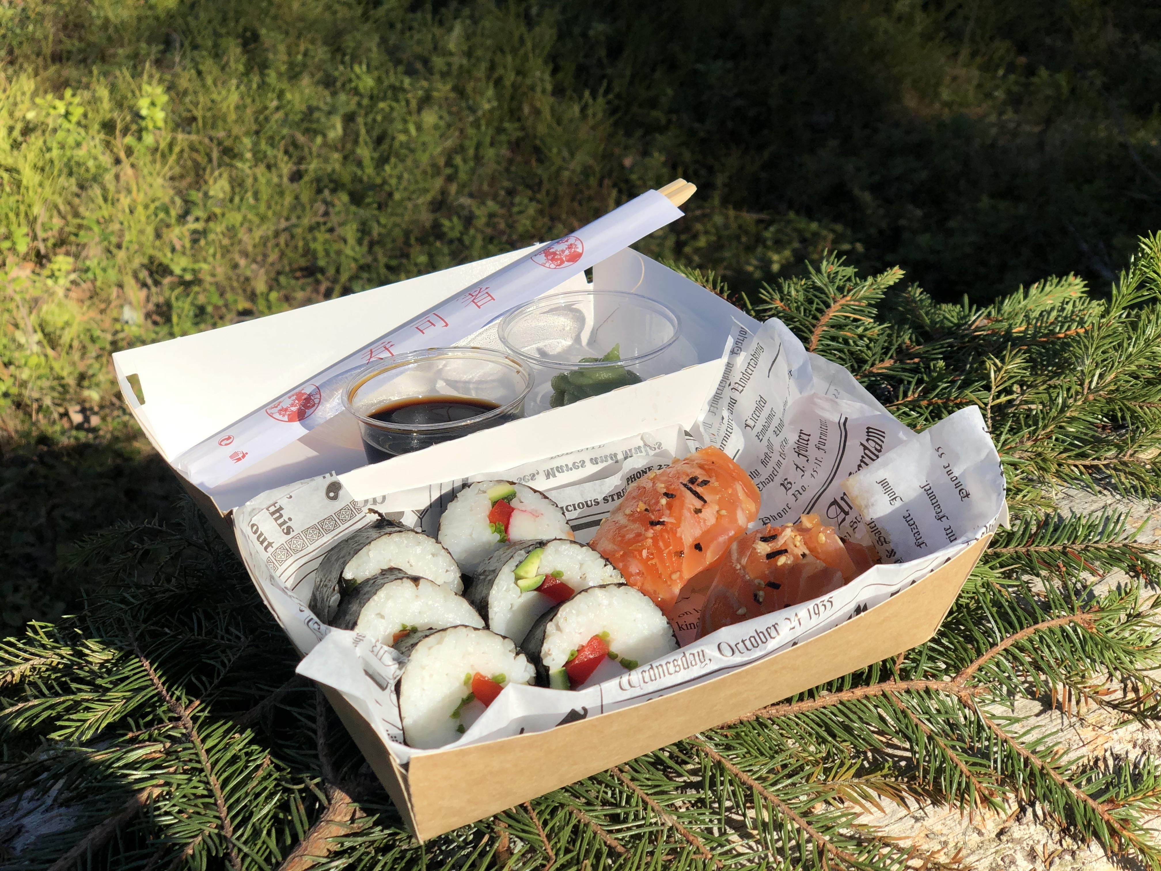 Sushi set retkieväs