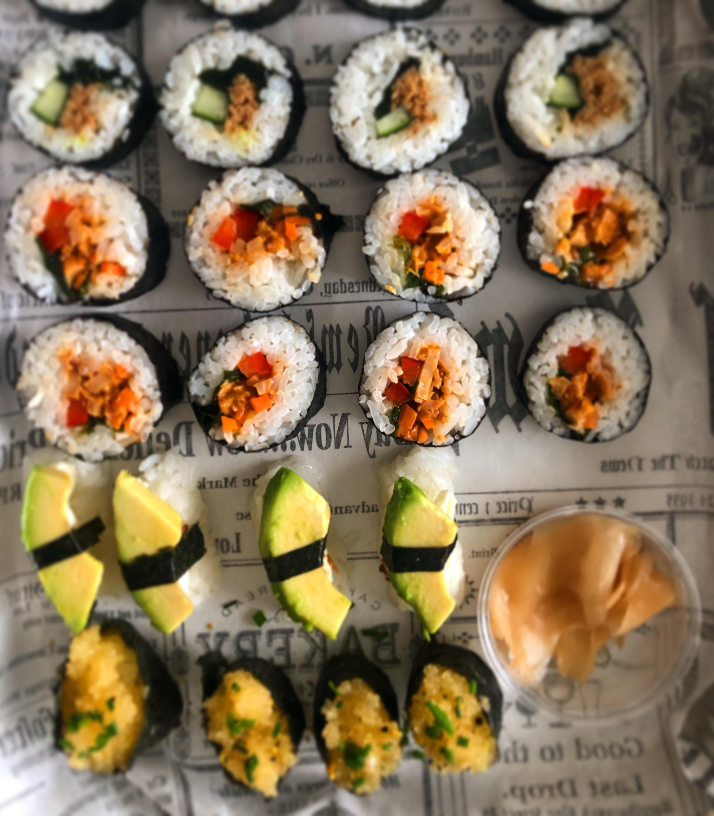 Sushi Set VEGE -20 kpl