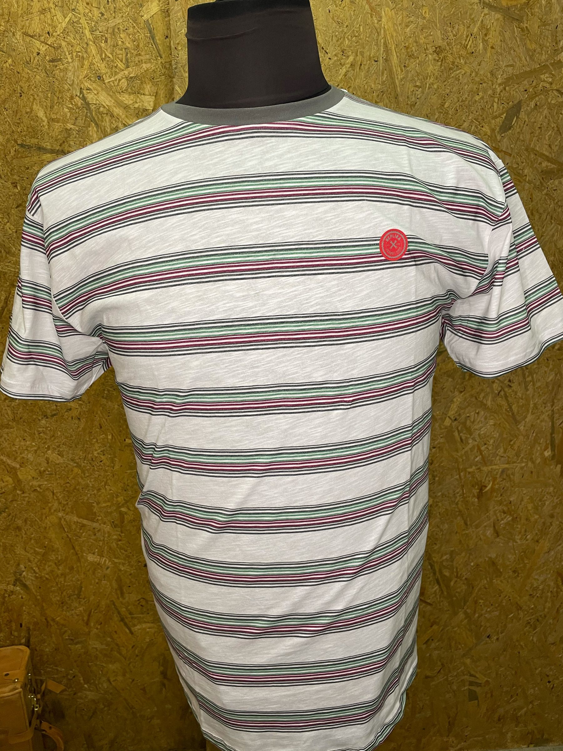 Replika  Jeans stribet t-shirt 11317