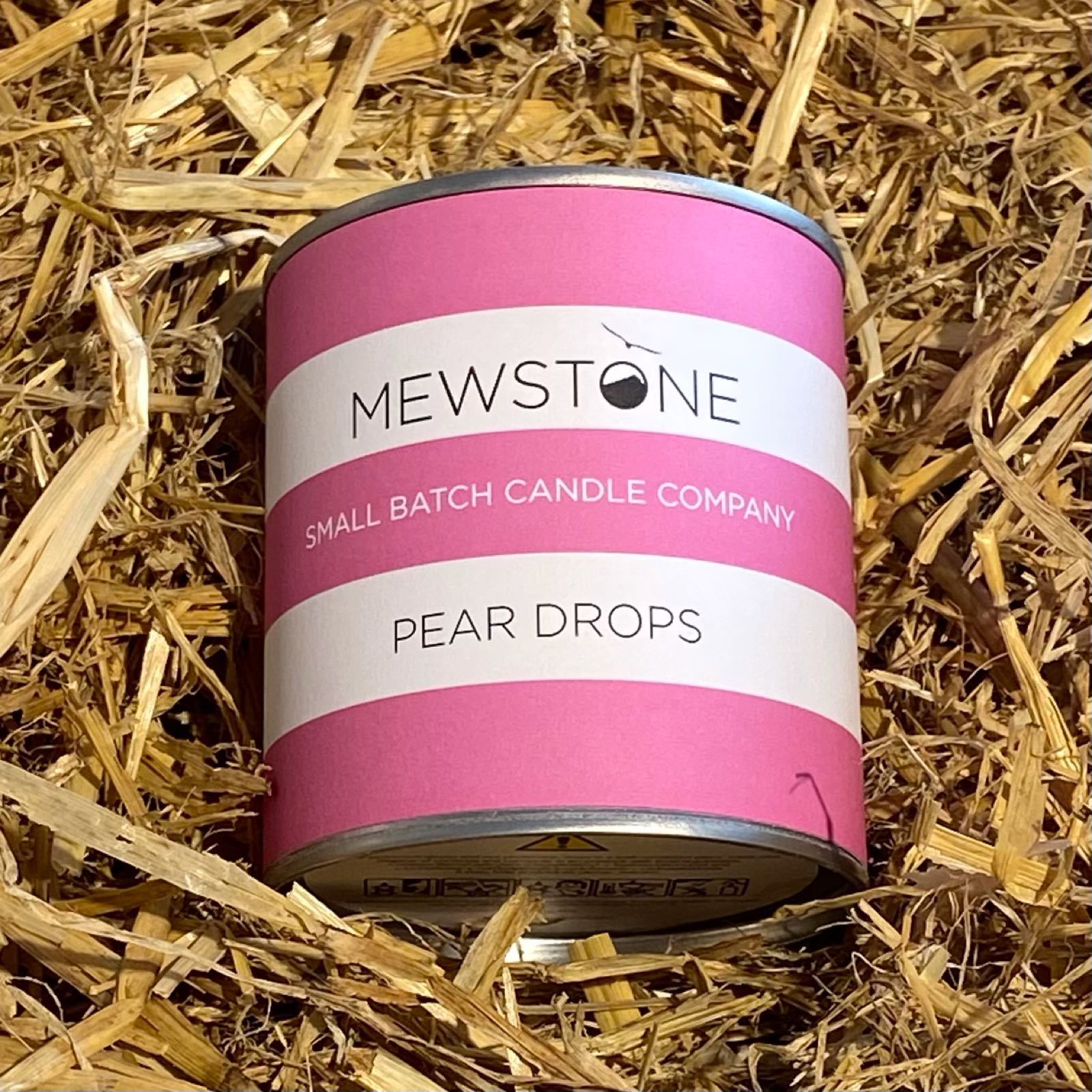 Pear Drops Paint Tin Candle
