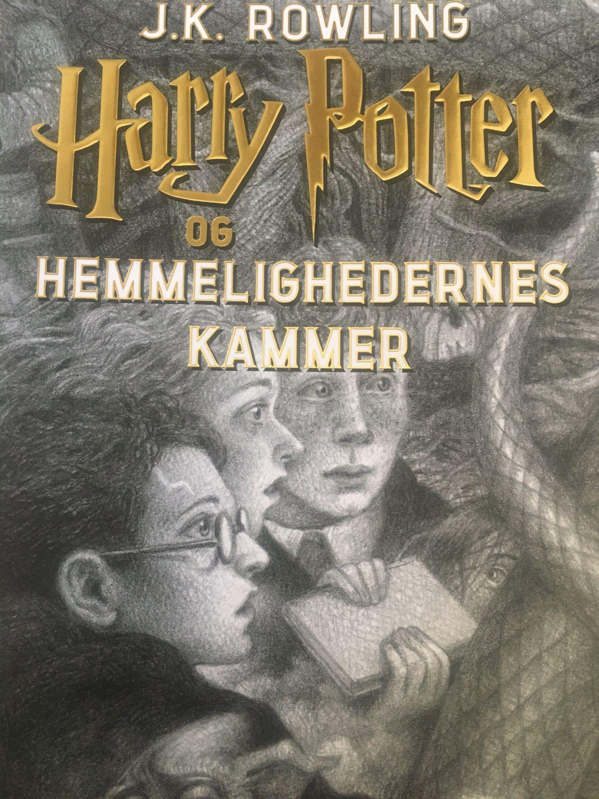 Harry Potter 2 - Harry Potter og hemmelighedernes kammer af J.K. Rowling