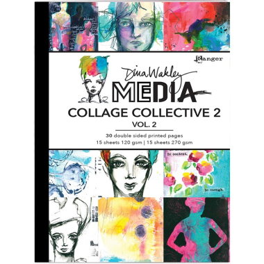 Dina Wakley Collage Collective 2 Vol.1