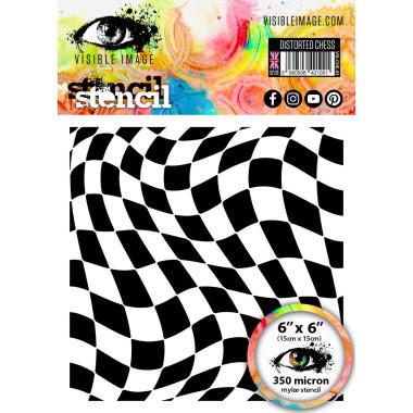 Stencil V.I Distorded Chess