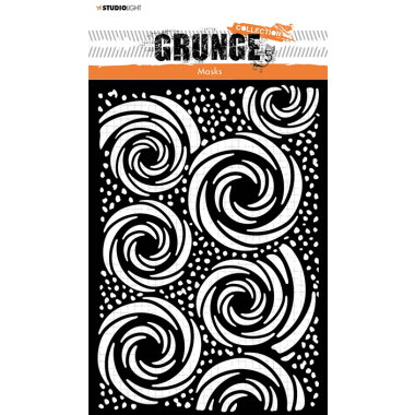StudioLight Grunge Collection Stencil SL55