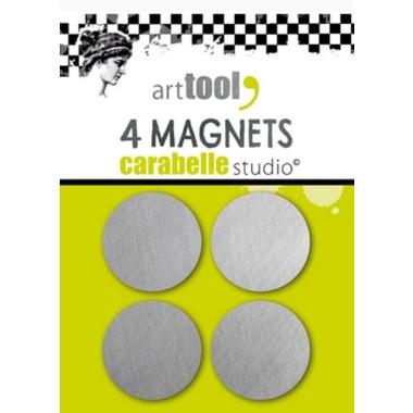Magnet til stempelplate 4 stk.