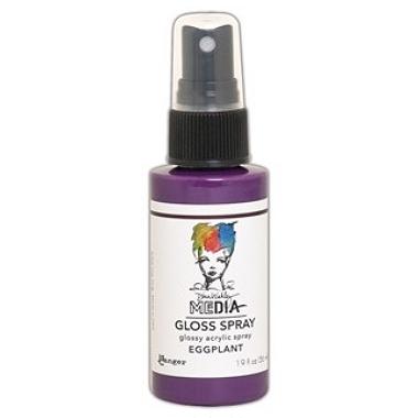 Media Gloss Spray EGGPLANT