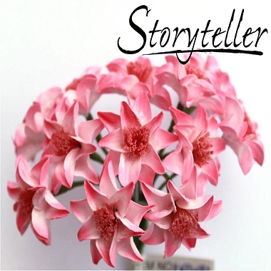 Blomst Lilje Rosa 15mm
