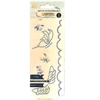 Bling Butterfly Silver PR553982