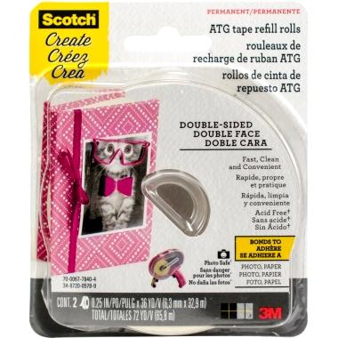 Scotch ATG Tape Refill Rolls