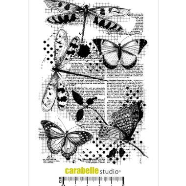 Stempel CS Libellules et Papillons