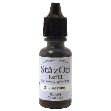 Refill StazOn 31Jet Black