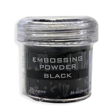 Embossing powder Black