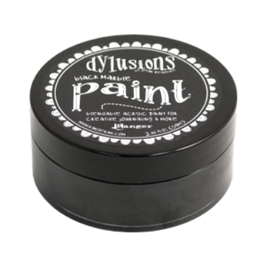 Dylusions Paint DYP45946 Black Marble