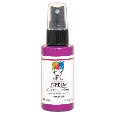 Media Gloss Spray FUCHIA
