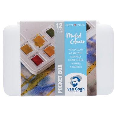 Van Gogh Akvarell Muted Colours
