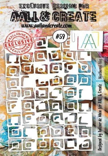 Stencil A&C #59