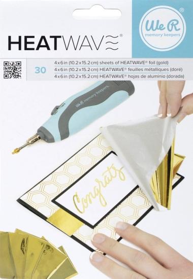Foil Heatwave Gold 30 stk. 662659