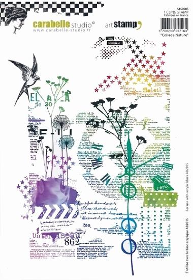 Stempel CS Collage Nature SA50005