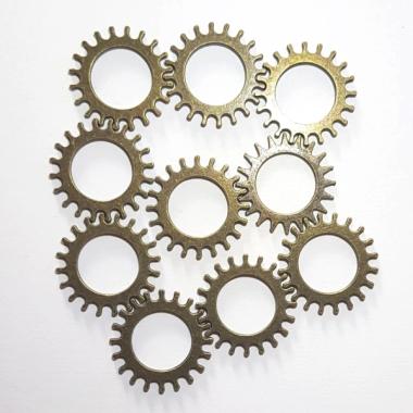Gear Wheel Messing 10 stk NB 03