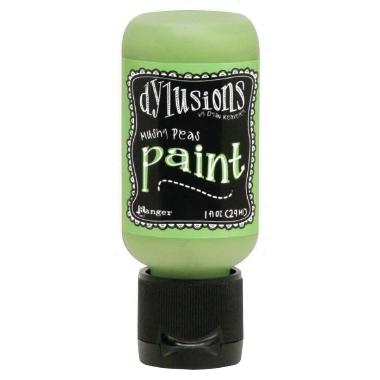 Dylusions Paint DYQ70566 Mushy Peas