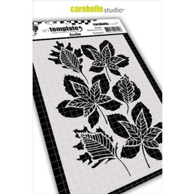 Stencil CS Automne leaves