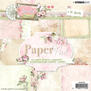 Lovely Moments Paper Pad PPLM123