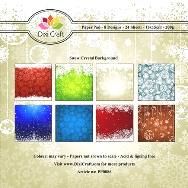 Snow Crystal Background DC PP0086
