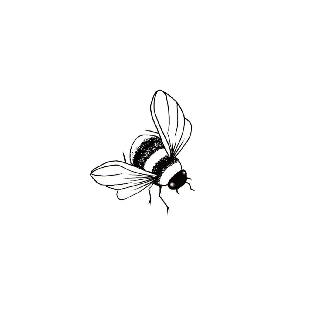 Stempel LAV132 Bee Miniature