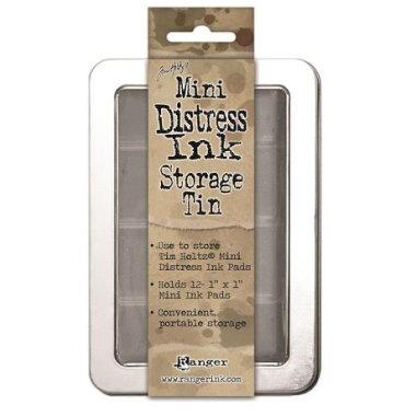 Oppbevaringsboks for Mini Distress Ink TDA42013