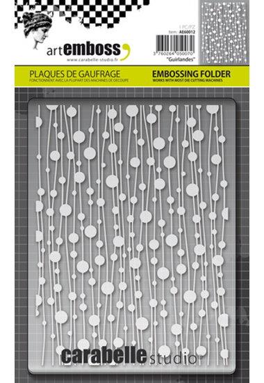 Embossing Folder CS Guirlandes AE60012