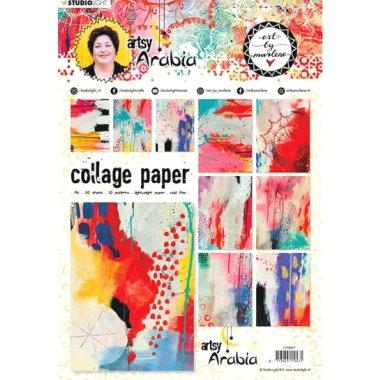 Collage Paper Artsy Arabia CPBM07