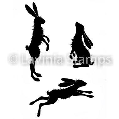 Stempel LAV482 Whimsical Hares