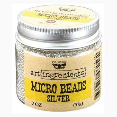 Micro Beads - Silver