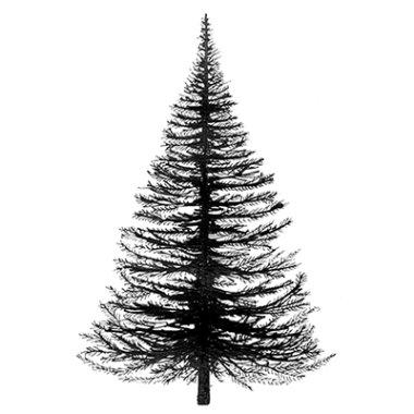 Stempel LAV022 Fir Tree