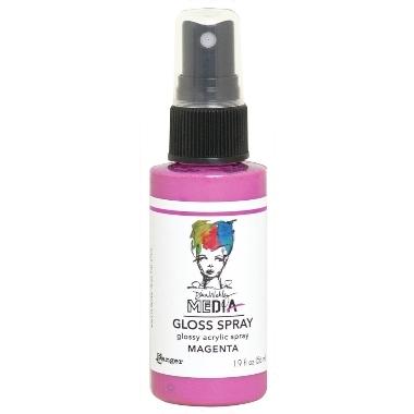 Media Gloss Spray MAGENTA
