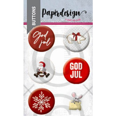 PD Buttons GOD JUL 3