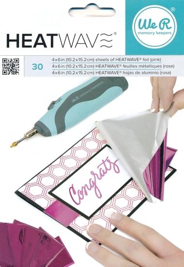 Foil Heatwave Pink 30 stk. 662660
