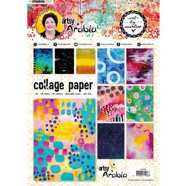 Collage Paper Artsy Arabia CPBM08