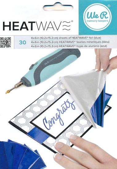 Foil Heatwave Blue 30 stk. 662658