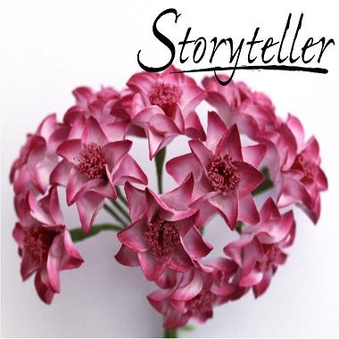Blomst Lilje Lilla 20mm