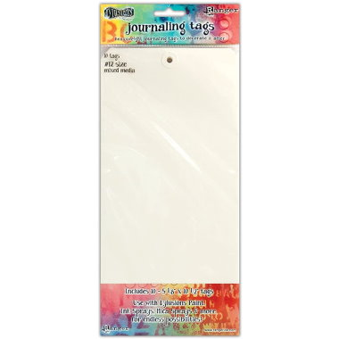 Dylusions Journaling Tags #12 DYA47308