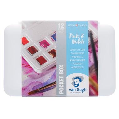 Van Gogh Akvarell Pinks & Violets